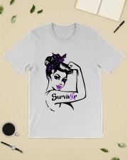 Purple Awareness - Survivor Classic T-Shirt lifestyle-mens-crewneck-front-19