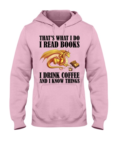 That's what i do i read books i drink coffee