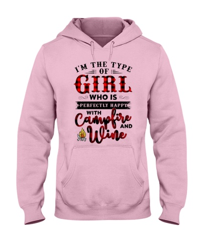 Im The Type Of Girl Campfire And Wine