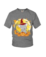 Elephant Dabbing - Halloween Youth T-Shirt thumbnail