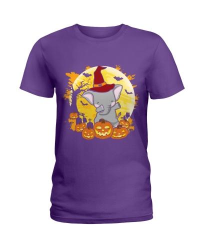 Elephant Dabbing - Halloween
