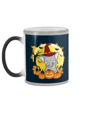 Elephant Dabbing - Halloween Color Changing Mug color-changing-left