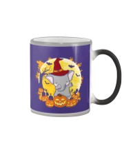 Elephant Dabbing - Halloween Color Changing Mug thumbnail