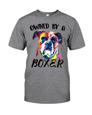 Owned by a Boxer Classic T-Shirt thumbnail