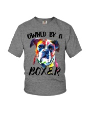 Owned by a Boxer Youth T-Shirt thumbnail