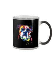 Owned by a Boxer Color Changing Mug thumbnail