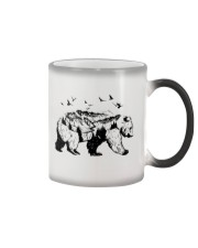 Bear adventure Color Changing Mug tile
