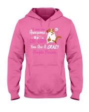 Cat lady Hooded Sweatshirt thumbnail