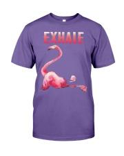 Exhale Flamingo Shirt Premium Fit Mens Tee thumbnail