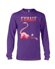 Exhale Flamingo Shirt Long Sleeve Tee thumbnail