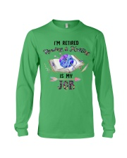 Reading And Knitting Is My Job Long Sleeve Tee thumbnail