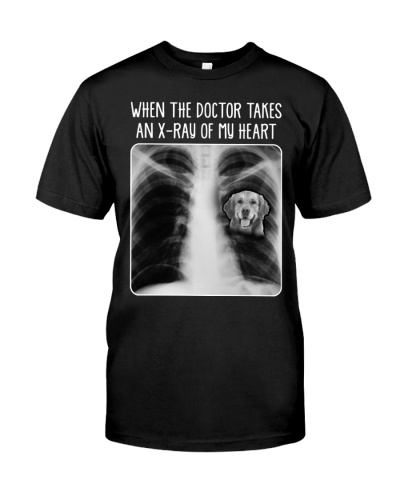 When the doctor take an X-ray of my heart