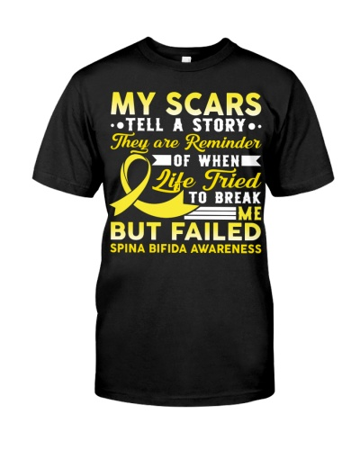 My scars tell a story they are reminder but failed
