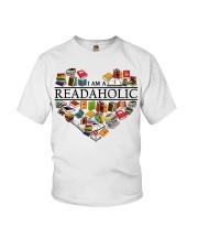 I am a Read Aholic Youth T-Shirt thumbnail