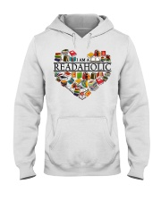 I am a Read Aholic Hooded Sweatshirt thumbnail