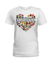I am a Read Aholic Ladies T-Shirt thumbnail