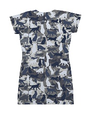 Cat camo All-over Dress back
