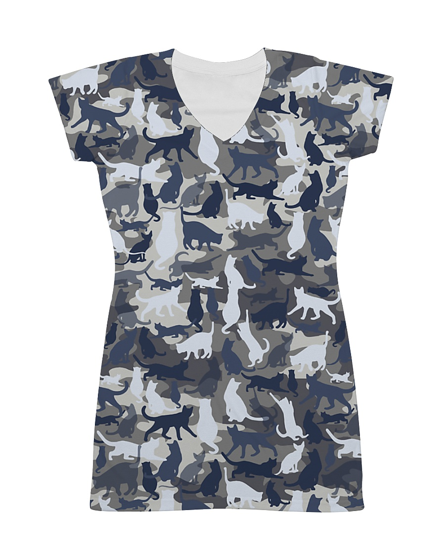 Cat camo All-over Dress