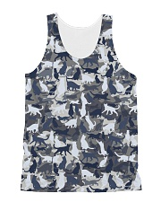 Cat camo All-over Unisex Tank thumbnail