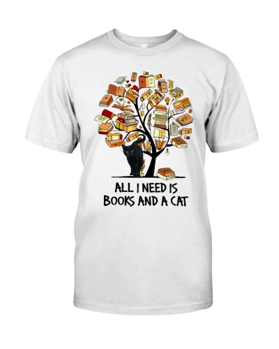 All i need is books and a cat