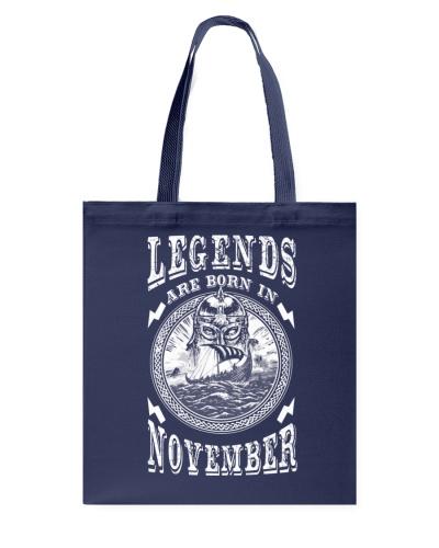 Legends are born in November