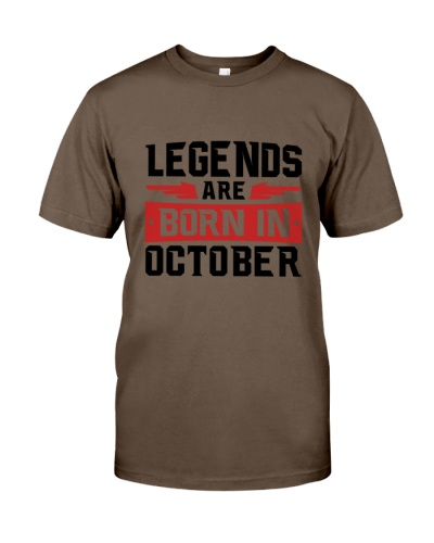 Legends Are Born in October