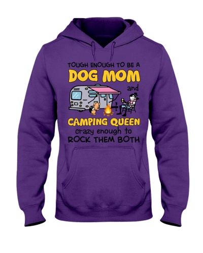 A Girl Loved Dogs And Camping