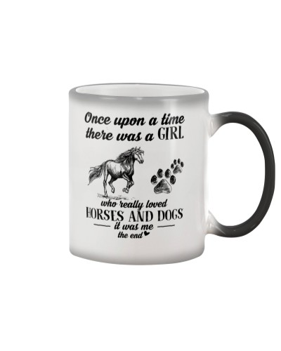 A Girl loved Dogs And Horses