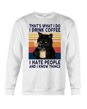 Love Cat Crewneck Sweatshirt front