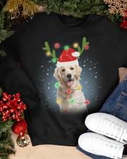 Labrador Christmas Crewneck Sweatshirt apparel-crewneck-sweatshirt-lifestyle-front-24