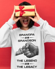 Grandpa and Grandson Crewneck Sweatshirt apparel-crewneck-sweatshirt-lifestyle-front-18