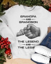 Grandpa and Grandson Crewneck Sweatshirt apparel-crewneck-sweatshirt-lifestyle-front-24