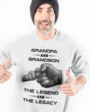 Grandpa and Grandson Crewneck Sweatshirt apparel-crewneck-sweatshirt-lifestyle-front-33