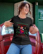 Santa Seems Sus To Me Ladies T-Shirt apparel-ladies-t-shirt-lifestyle-01