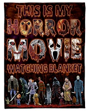 "My Horror Movie Watching Small Fleece Blanket - 30"" x 40"" front"