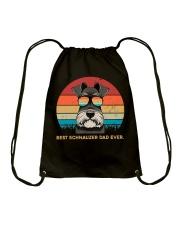 Best Schnauzer Dad Ever Gift t Shirt Drawstring Bag thumbnail