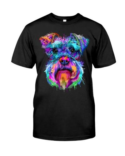 Schnauzer Art Gift t Shirt