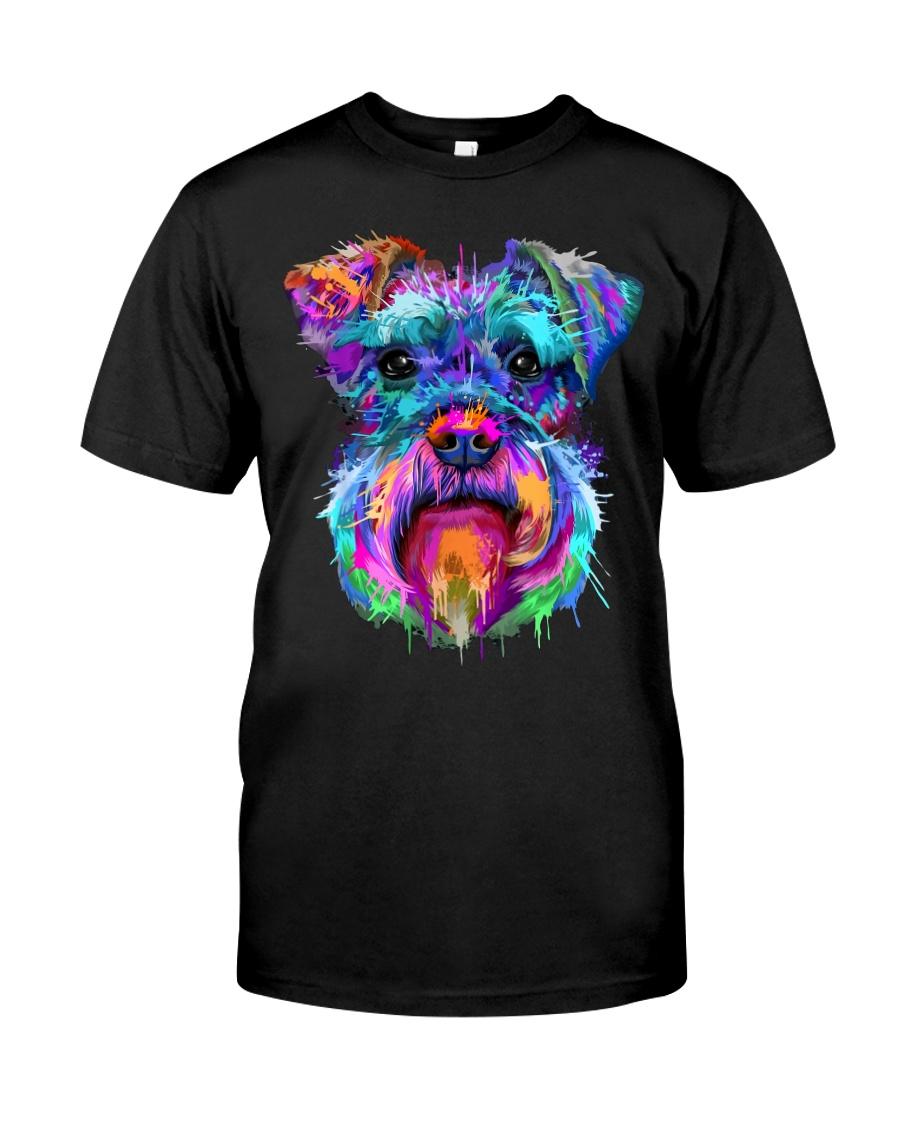 Schnauzer Art Gift t Shirt Classic T-Shirt