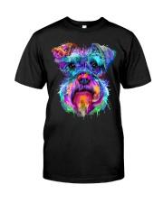 Schnauzer Art Gift t Shirt Classic T-Shirt front