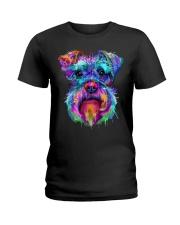 Schnauzer Art Gift t Shirt Ladies T-Shirt thumbnail