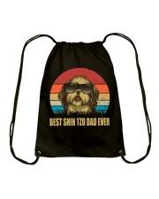 Best Shih Tzu Dad Ever Gift t Shirt Drawstring Bag thumbnail