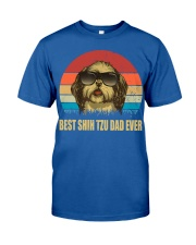 Best Shih Tzu Dad Ever Gift t Shirt Classic T-Shirt thumbnail