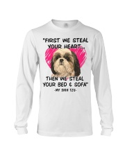 SHIH TZU First We Steal Your Heart Long Sleeve Tee thumbnail
