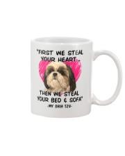 SHIH TZU First We Steal Your Heart Mug thumbnail