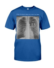schnauzer When The Doctor Take An X-Ray Classic T-Shirt thumbnail