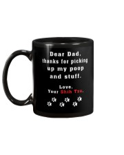 Dear Dad - Shih Tzu Gift Mug Mug back