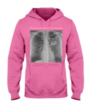 When doctor takes an X-ray of my heart TShirt Hooded Sweatshirt thumbnail