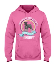 schnauzers make me happy Hooded Sweatshirt thumbnail