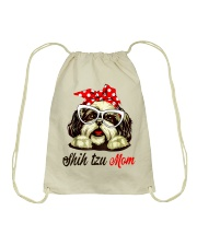 Shih Tzu Mom gift Tshirt Drawstring Bag thumbnail