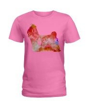 All you need is love and a shih tzu Gift Ladies T-Shirt tile